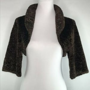 Zara Basic Womens Crop Top Cardigan Size M